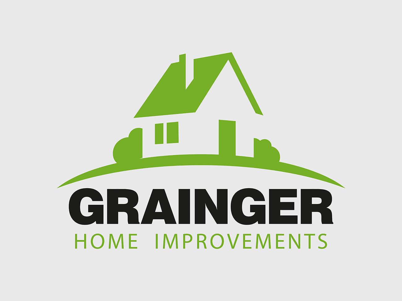 Grainger_logo. ← Grainger Home Improvements, Logo Design