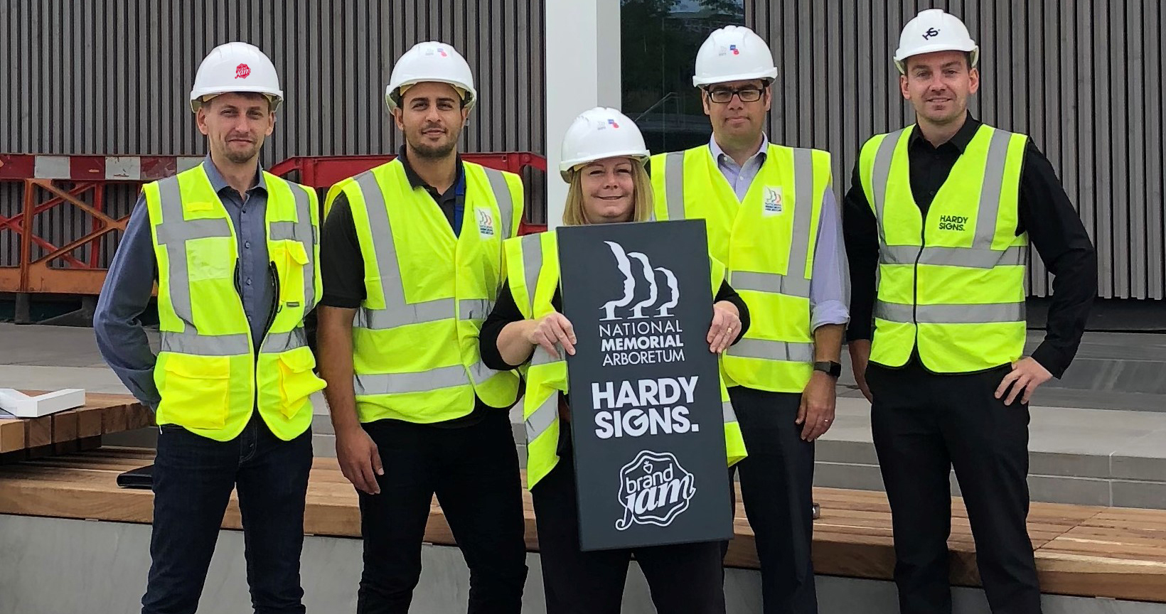 Brand Jam, Hardy Signs and the National Memorial Arboretum will work together on the signage and way finding solutions for Aspects