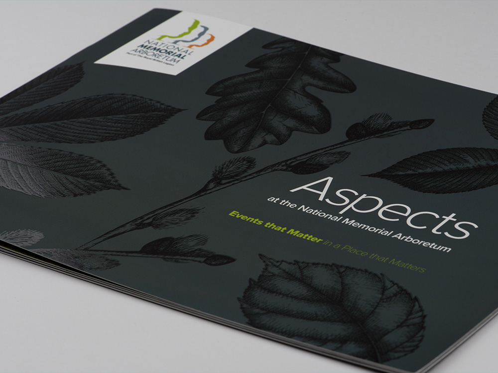 Aspects Brochure designed by Brand Jam Limited