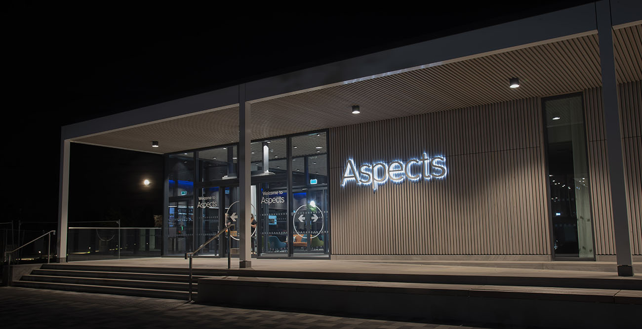 Aspects - the new £8m events centre located at the National Memorial Arboretum