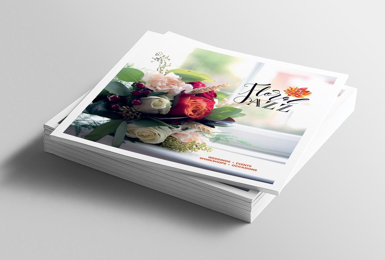 Brochure Design - Floral Jazz Floristry
