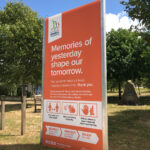 Designed by Brand Jam. Memories of Yesterday Fundraising Signage at the National Memorial Arboretum.